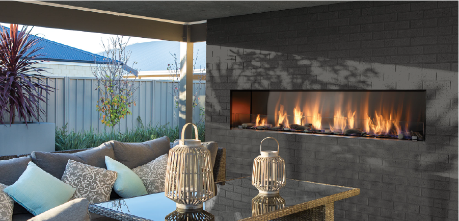 OUTDOOR PROPANE FIREPLACES