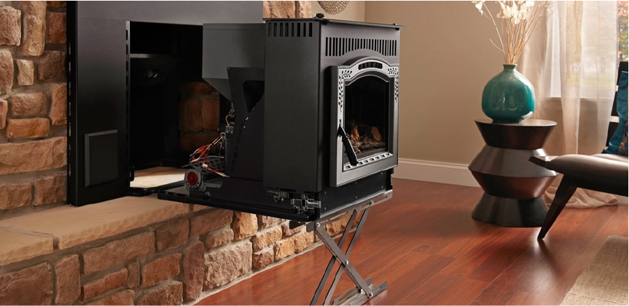 PELLET FIREPLACES INSERT