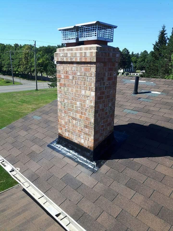 flashing chimney repair