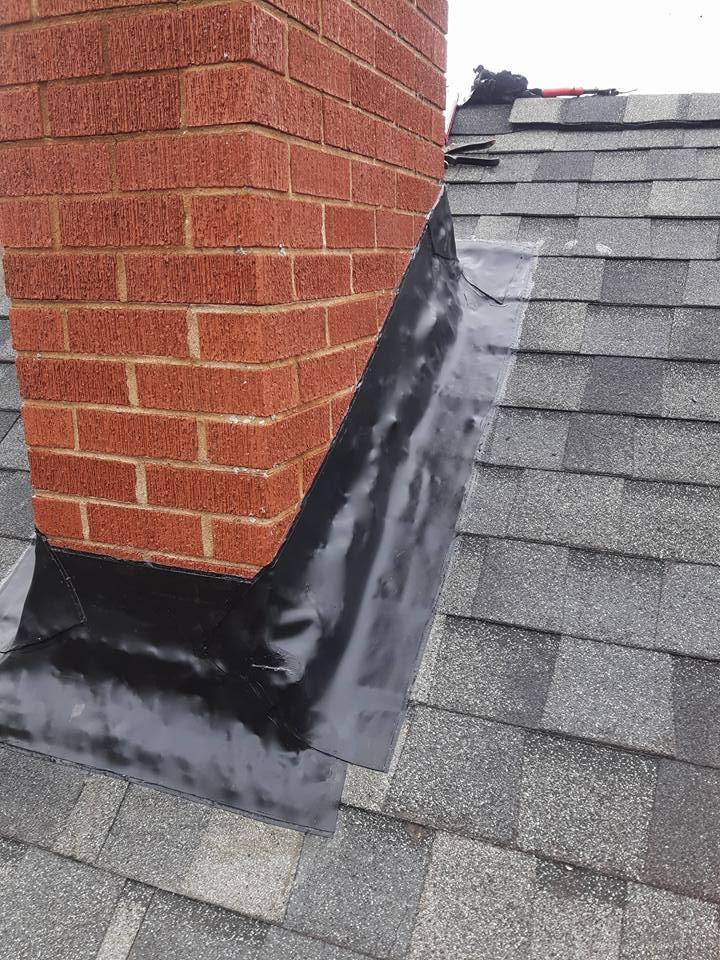 rubber chimney flashing